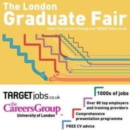 The Autumn London Graduate Fair Tuesday 13th October