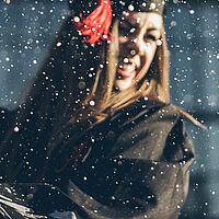 girl graduate graduation celebrating champagne