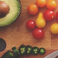 healthy food dinner cooking