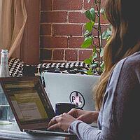 Gain Experience at University Girl Laptop