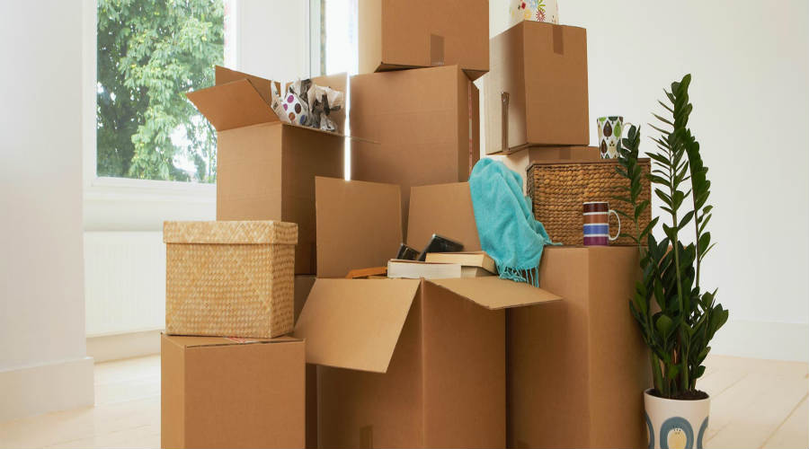 Graduate job relocation boxes