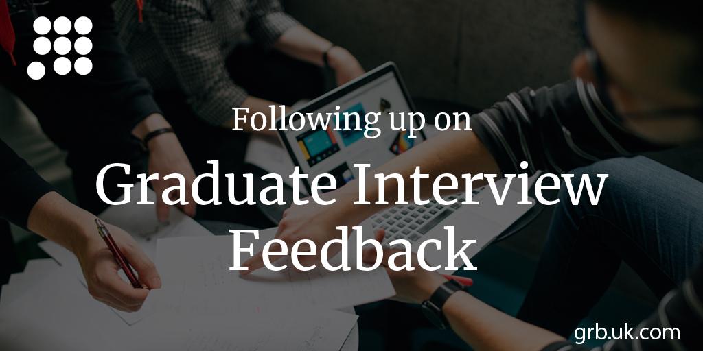 following up graduate job applications career advice grb