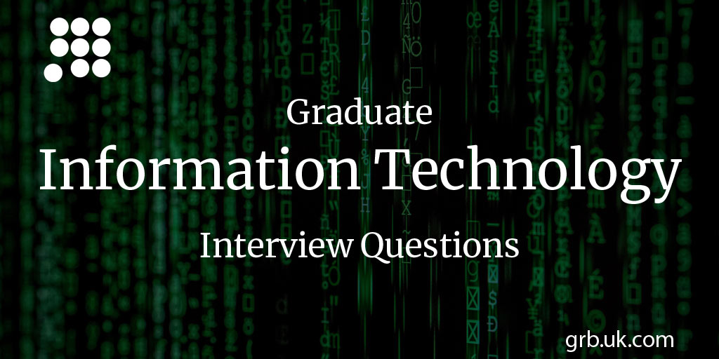 information technology interview questions