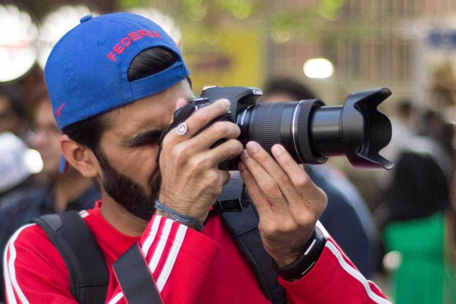 Boy photographer career change