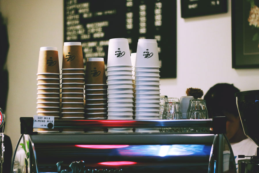 part time job university coffee machine barista