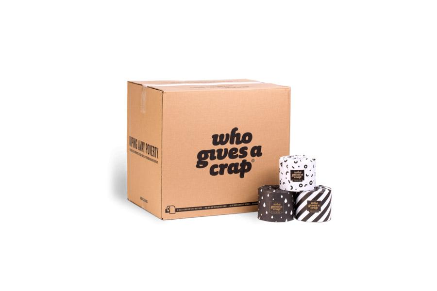 who gives a crap box